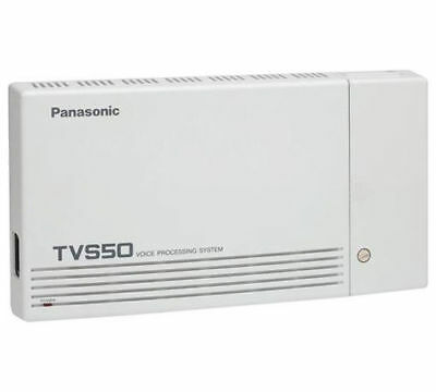 Panasonic KX-TVS50 2 PORT Voice Processing System 2 Hour 32 Mailbox Voicemail