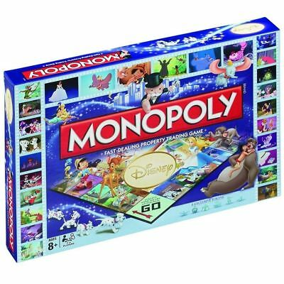 Disney Classic Monopoly Board Game Winning Moves - Brand New