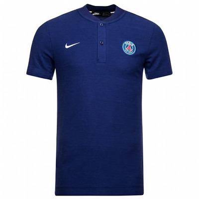 Nike PSG Paris Saint-Germain Authentic Grand Slam Polo Shirt 2018/19 - Mens
