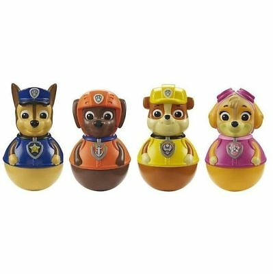 Authentic Paw Patrol Weebles - 4 Pack - Skye, Chase, Rubble And Zuma Figures
