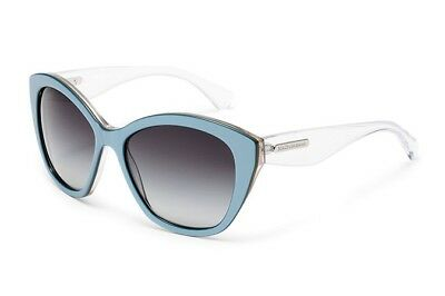 bb238a025129 Authentic Dolce & Gabbana Sunglasses DG4220 2796/8G Blue Frames Gray Lens  55mm