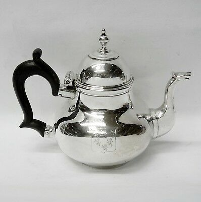 George I Silver Teapot Made by RICHARD BAYLEY, LONDON 1719. Stock ID 9137