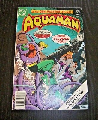Aquaman #57 A Life For A Life!   Bronze Age - 1977