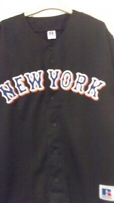 Authentic Baseball Shirt Size 40/42 Plus New York Mets