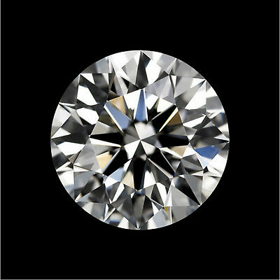 Natural White Diamond H Color 1.0cts 6.5mm Round Shape VVS2 Clarity