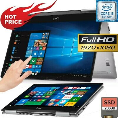 NEW DELL Inspiron 11.6 TouchScreen 2-in-1 Laptop AMD 2.40GHz 4GB 64GB SSD WebCam