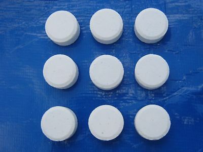 20g Small Blue Horizons CHLORINE Tablets, Pool,Spa,Hot Tub Chemicals 4 tabs