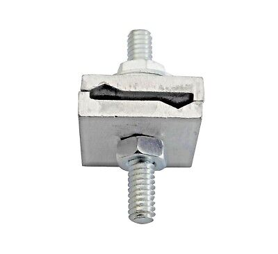 10 pcs, grounding parts, steel hardware with Aluminum, D clamp