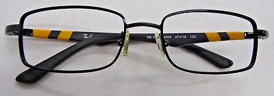 7902ddeea0 Ray-Ban RB1030 4005 Youth s Yellow   Black Eyeglass Frames See Condition  Used