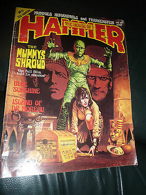 Rare The House Of Hammer Magazine #15 Issue 15 Vintage