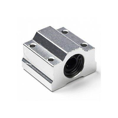 SCS8UU SC8UU Closed Linear Motion Bearing with Rubber Seals 8mm bore