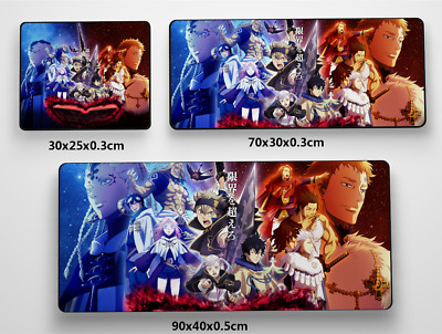 Black Clover online Anime Game Mouse Pad Profession PC Large Mats MP015