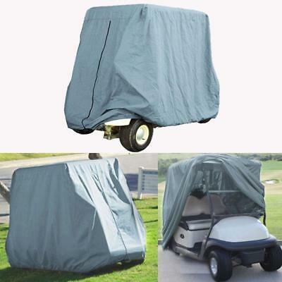 2 Passenger Golf Cart Cover For EZ Go Club Car Yamaha Cart Taupe Storage Cover