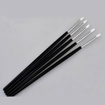 5pcs Silicone Rubber Shapers Polymer Clay Sculpting Fimo Modelling Tools 15.5cm