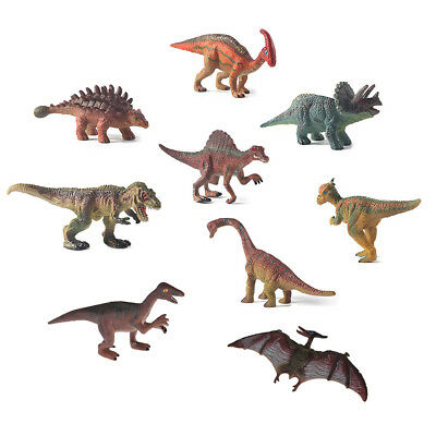Plastic Simulation Dinosaur Model Toy Static Figures Decoration Action Kid Gift
