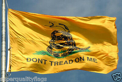 NEW 3x5 ft GADSDEN GADSEN FLAG made with premium outdoor material usa seller