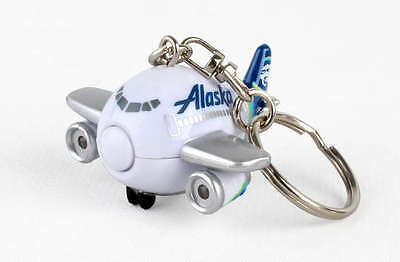 Alaska Airlines Keychain with lights and sound