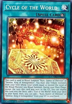 Yugioh! Cycle of the World - CYHO-EN056 - Common - 1st Edition Near Mint, Englis