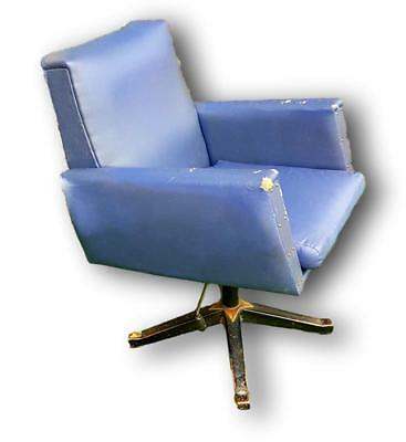 Chair armchair office 70's vintage modern antiques
