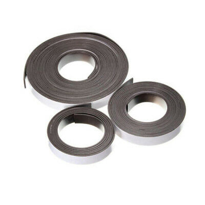 5m/2m/1m 12x2mm Flexible Rubber Self Adhesive Magnet Magnetic Tape Strip Craft