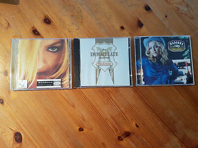 3 Madonna CDs Music The Immaculate Collection Music GHV2  best songs of a decade