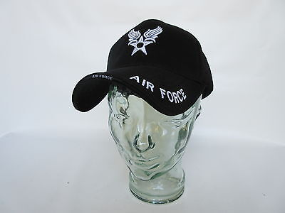 """Us Army """" Air Force """" Baseball Cap Airforce Insignia Pilots Seals Navy WK2 WWII"""