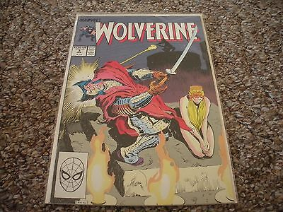 Wolverine #3 (1989 1st Series) Marvel Comics NM/MT