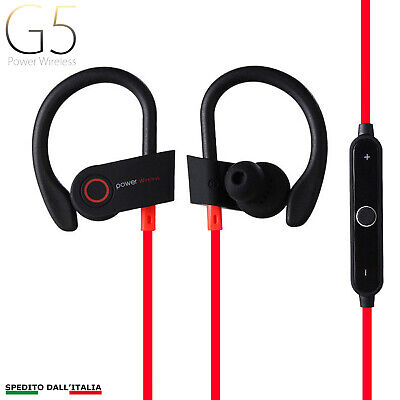 AURICOLARI CUFFIE WIRELESS SPORT BLUETOOTH 4.2 STEREO iPhone Samsung Huawei LG