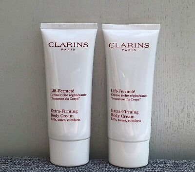 Set of 2 CLARINS Extra Firming Body Cream, 2x100=200ml, Brand New Sealed