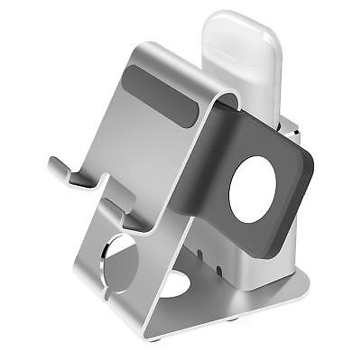iPhone X/8/7 Charging Docking Station Apple Watch Holder AirPods Stand Charger