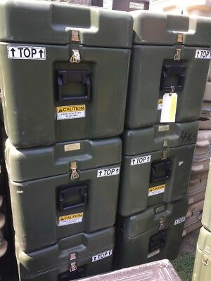 Pelican Hardigg Military Large Transport Storage Tool Case and Box 32 x 20 x 20