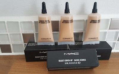 MAC SELECT COVER -UP CACHE - CERNES Concealer  For That Fabulous look 10ml *UK*