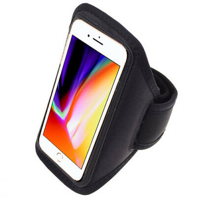 For iPhone 8 Plus Sports Gym Running Jogging Sports Armband Exercise Case Cover