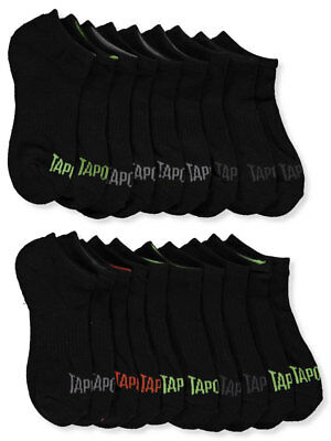 Tapout Boys' 10-Pack Low Cut Socks (Sizes 4 - 11)