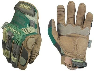 Mechanix Wear US BW Handschuhe Army Tactical M-Pact Gloves woodland camouflage