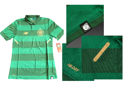 NB Glasgow Celtic Football Club Away Elite Player Issue Match Shirt TIGHT FIT