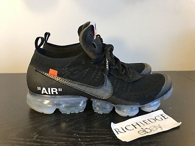 709c83f9e838 NIKE AIR VAPORMAX FK X Off White The Ten SIZE 10.5 VNDS WITH RECEIPT ...