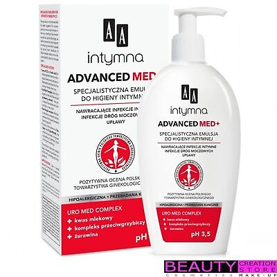 AA ADVANCED MED+ Specialised Emulsion For Intimate Hygiene 300ml AA023