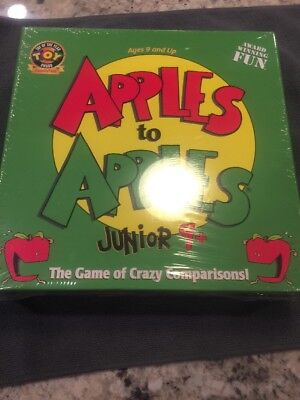 NEW and Factory Sealed. Apples to Apples Junior Game for Kids Ages 9+
