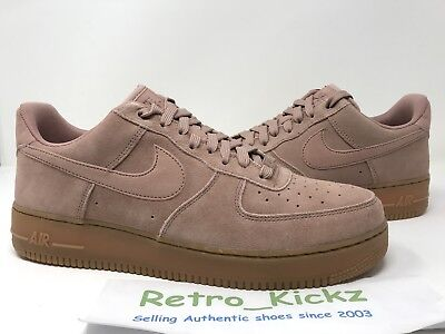 Aa1117 600 Nike Air Force 1 Low  07 Lv8 Suede Pink Gum Rose Brown Size 5d6e16d7f