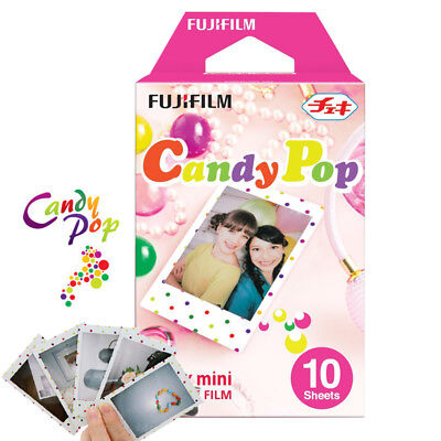 Candy Pop Fujifilm Instax Mini Instant Film 10pcs For Mini 9 8 7s 70 90 25 SP-2
