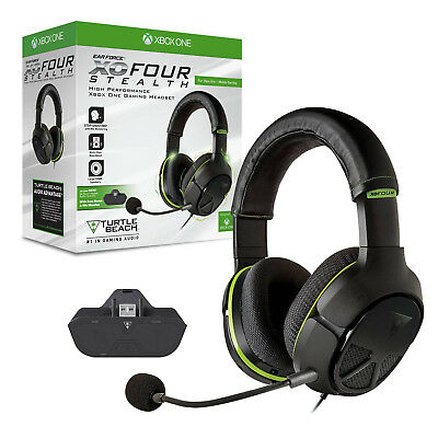 Turtle Beach Ear Force XO4 STEALTH XO FOUR Xbox One Gaming Headset Brand NEW