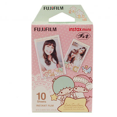 Little Twin Stars Fujifilm Instax Mini Film 10pcs For Mini 9 8 7s 70 90 25 SP-2