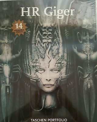 Hr Giger Taschen Portfolio Art Soft Cover Book Prints 2002 Sealed New Aliens!