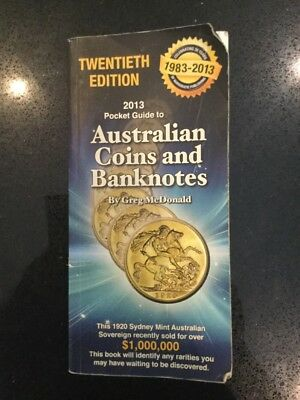 The Pocket Guidebook To Australian Coins And Banknotes 20th Edition