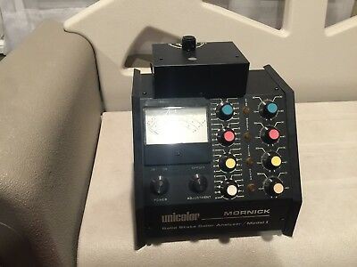 Unicolor Mornick Solid State Color Analyzer Model 1--Free U.S. Shipping!!!!!!!!!
