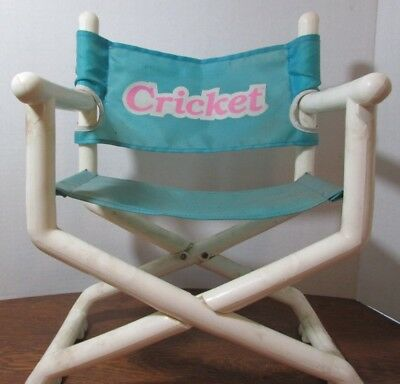 Vintage 1986 Talking Cricket Doll's Very Own Director's Chair Seat