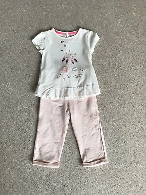 BNWOT Girls Ted Baker Bunny Outfit 12-18 Months