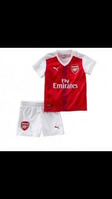 the latest e9251 df3e5 ARSENAL FOOTBALL KIT Age 12-18 Months Bnwt