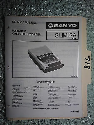 sanyo vintage original stereocast cassette tape recorder m9950 rh picclick com Cell Phone Sanyo 8400 Sanyo 8400 Black